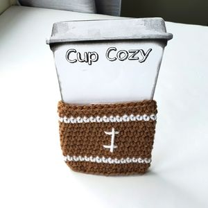 Free w/ Purchase Cup Cozy Brown Handmade